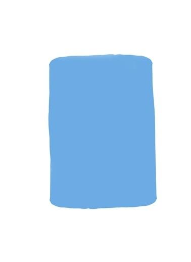 Linens Blue Mix And Match Düz Çarşaf Mavi